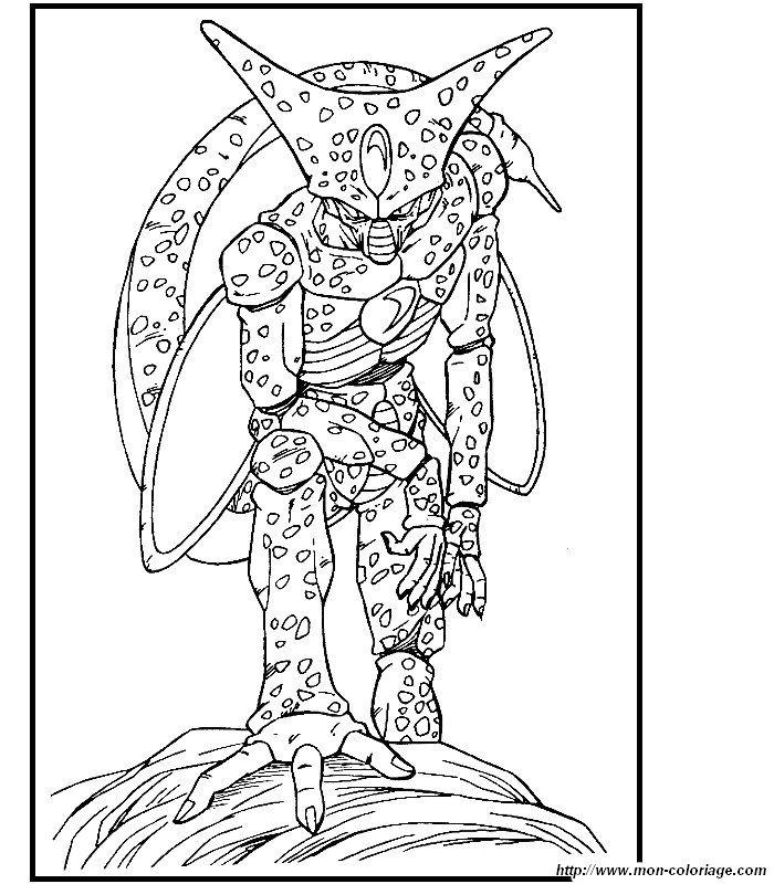 Colorear dragon ball z dibujo 019 - Image de dragon ball z coloriage ...