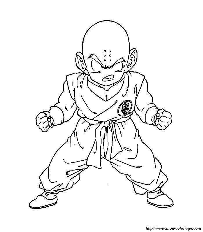 Colorear Dragon Ball Z, dibujo dibujos dbz