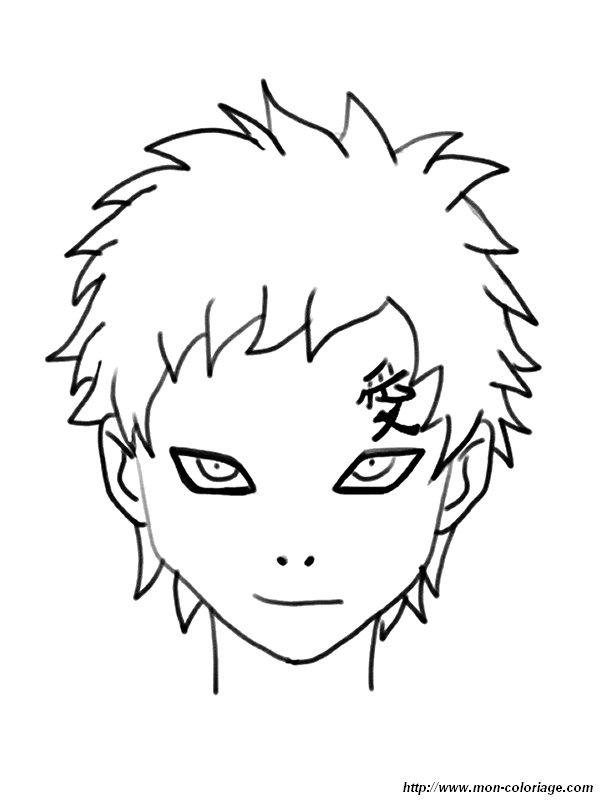 Colorear Naruto, dibujo imagenes naruto