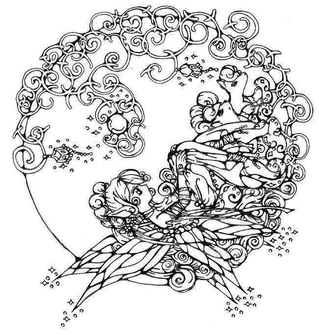 Dibujos para imprimir y colorear adultos - Imagui