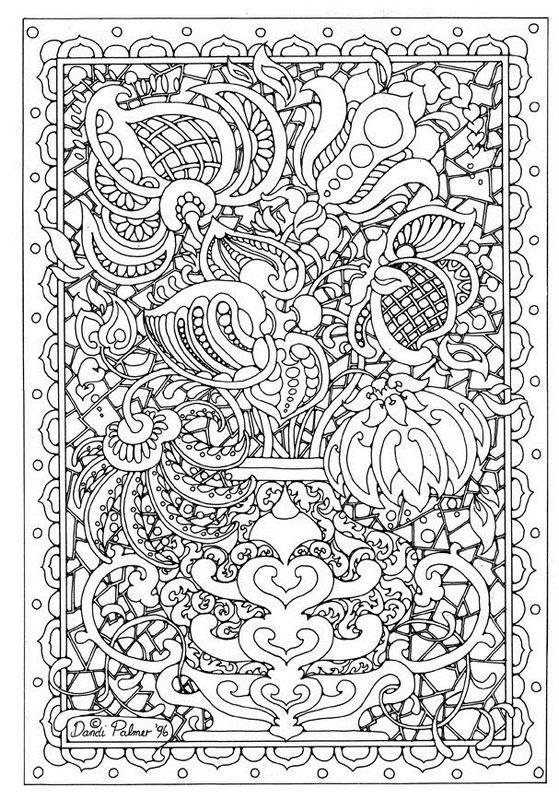 Colorear dibujos para adultos - Imagui