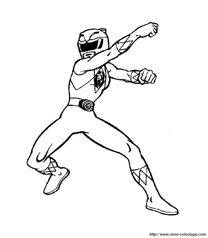 Red ranger free coloring pages - Power ranger samurai dessin ...