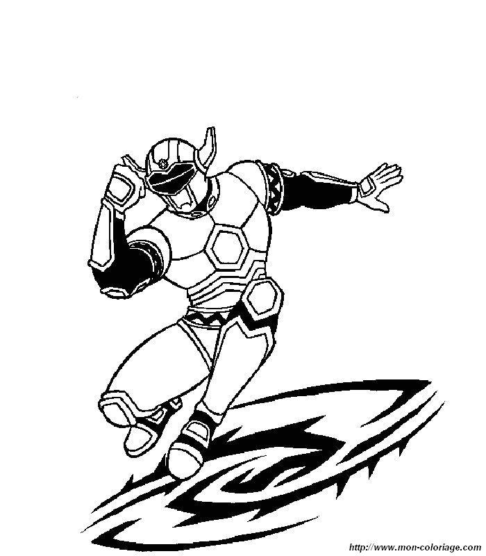 Colorear power ranger dibujo 007 - Coloriage power rangers megaforce a imprimer ...